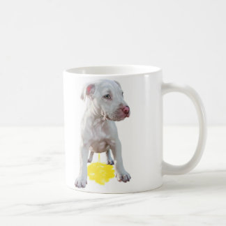 Pit Bull Puppy Piddles OOPS Coffee Mugs