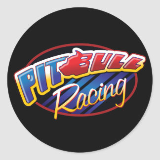 Pit Bull Racing Sticker
