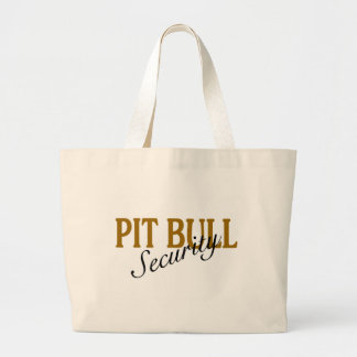 Pit Bull Security Large Tote Bag