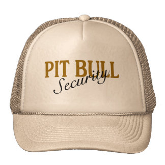 Pit Bull Security Trucker Hat