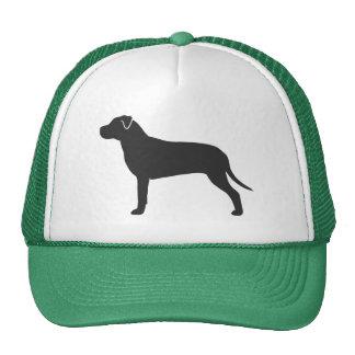 Pit Bull Silhouette Trucker Hat