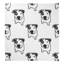 Pit Bull T-Bone Graphic Bandana
