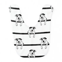 Pit Bull T-Bone Graphic Bib