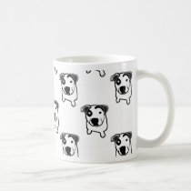 Pit Bull T-Bone Graphic Coffee Mug