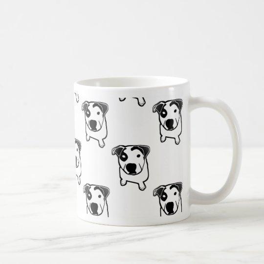 Pit Bull T Bone Graphic Coffee Mug