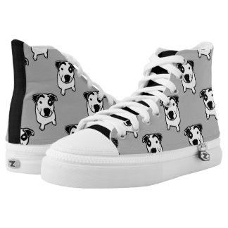 Pit Bull T-Bone Graphic High-Top Sneakers