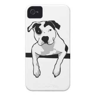 Pit Bull T-Bone Graphic iPhone 4 Cover