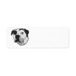 Pit Bull T-Bone Graphic Label