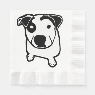 Pit Bull T-Bone Graphic Paper Napkin
