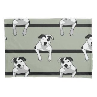Pit Bull T-Bone Graphic Pillowcase