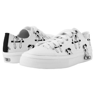Pit Bull T-Bone Graphic Printed Shoes