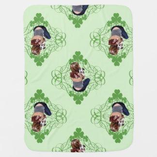 Pit Bull T-Bone Lucky Puppy 2009 Swaddle Blanket