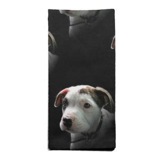 Pit Bull T-Bone Puppy Cloth Napkin