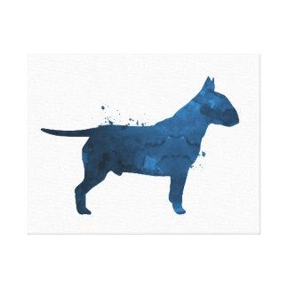 Pit bull terrier canvas print