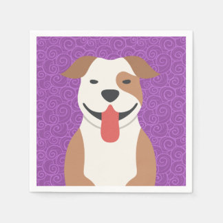Pit Bull Terrier Cocktail Napkins