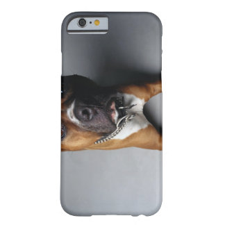 Pit Bull Terrier Lying Down Barely There iPhone 6 Case