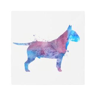 Pit bull terrier metal print