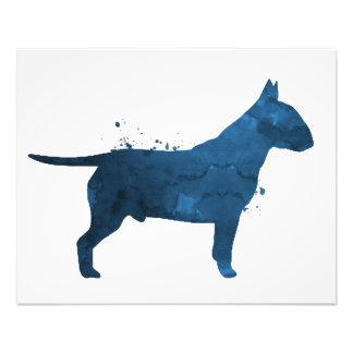 Pit bull terrier photo print
