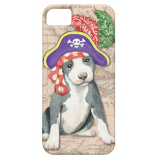 Pit Bull Terrier Pirate iPhone SE/5/5s Case