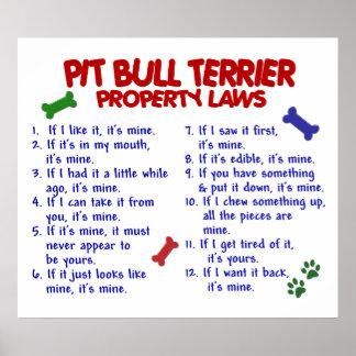 PIT BULL TERRIER PL2 PRINT