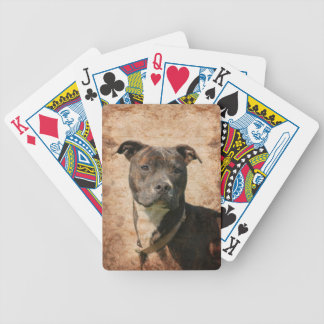Pit Bull Terrier Playing Cards