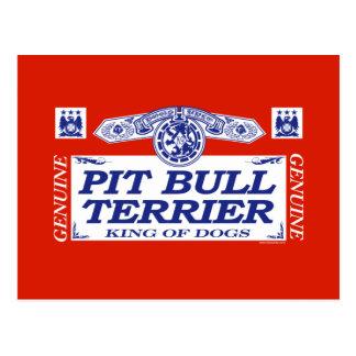Pit Bull Terrier Postcard