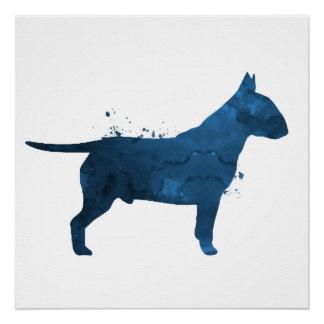 Pit bull terrier poster