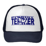 Pit Bull Terrier Silhouette Trucker Hat