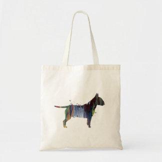 Pit bull terrier tote bag