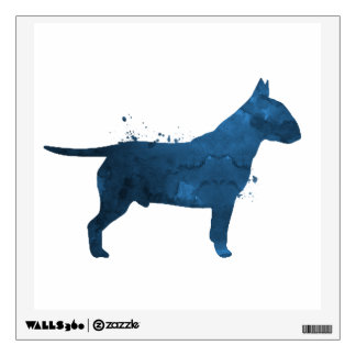 Pit bull terrier wall decal
