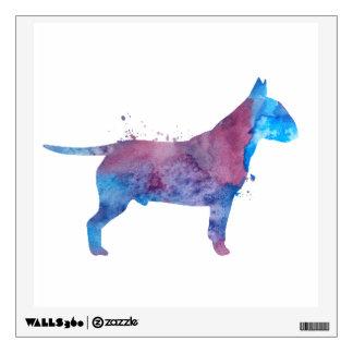 Pit bull terrier wall sticker