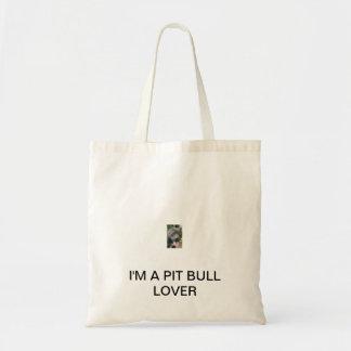 Pit bull tote
