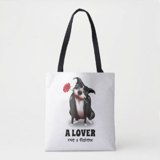 Pit Bull Tote Bags | Unique Dog Lover Gifts