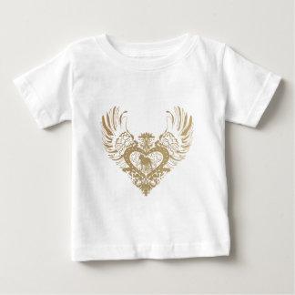 Pit Bull Winged Heart T Shirt