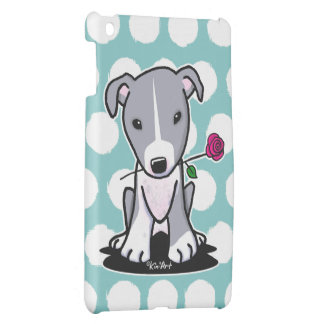 Pit Bull With Flower iPad Mini Covers
