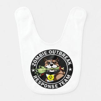 Pit Bull Zombie Outbreak Response Team Bib