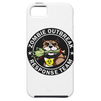 Pit Bull Zombie Outbreak Response Team Logo iPhone SE/5/5s Case