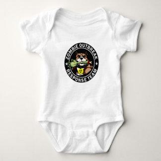 Pit Bull Zombie Outbreak Response Team Onesy Tee Shirt