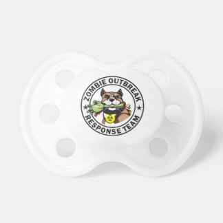 Pit Bull Zombie Outbreak Response Team Pacifier BooginHead Pacifier