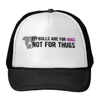 Pit Bulls are for Hugs, not Thugs Trucker Hat