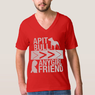 Pit Bulls Are Greater Than Any Girlfriend Shirt