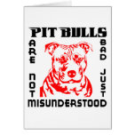 PIT BULLS ARE NOT BAD CARDS