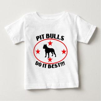 PIT BULLS DO IT BEST T-SHIRT