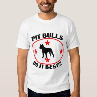PIT BULLS DO IT BEST T SHIRT