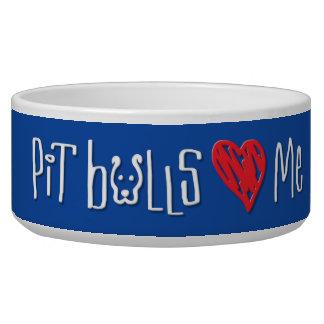 PIt Bulls Love Me Bowl