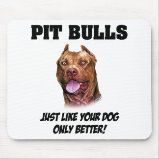 Pit Bulls Mouse Pad