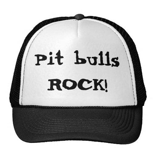 Pit bulls ROCK! Trucker Hat
