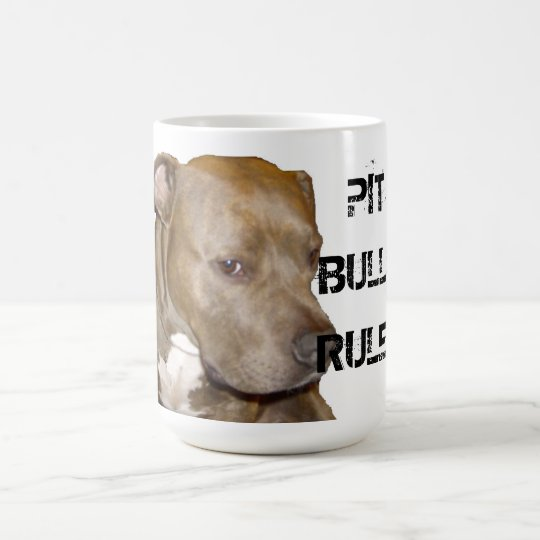 PIT BULLS RULE! COFFEE MUG