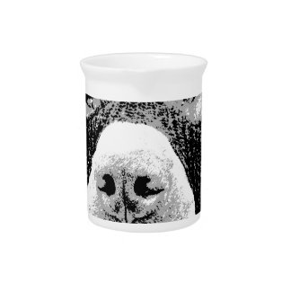 PIT BULLS WILL STEAL YOUR HEART BEVERAGE PITCHER