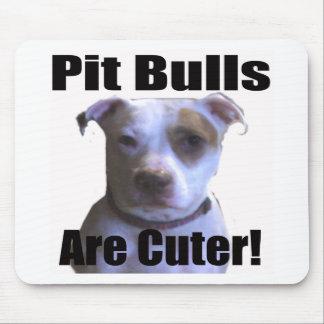 pit buls are cuter mousepads